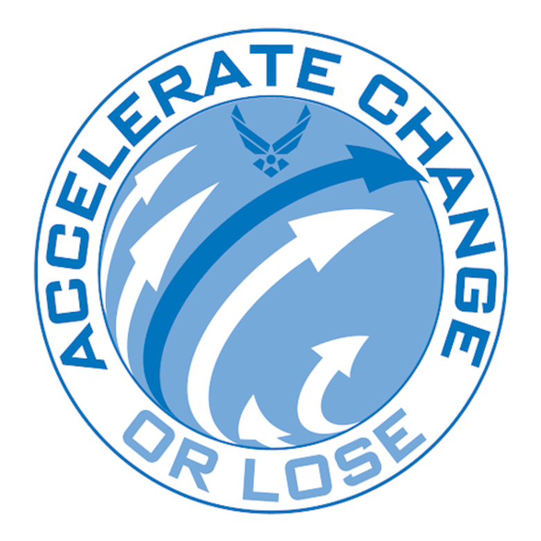 Accelerate Change or Lose graphic
