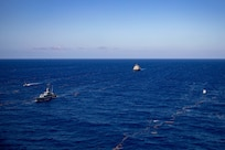 Sioux City conducts bi-lateral maritime exercise with the Jamaican Defence Force Coast Guard.