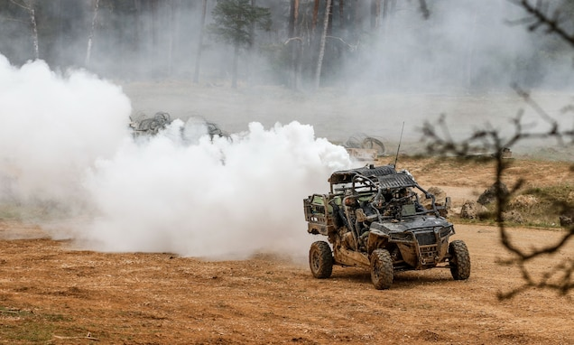Exercise Dragoon Ready 21 prepares 2nd Cavalry Regiment