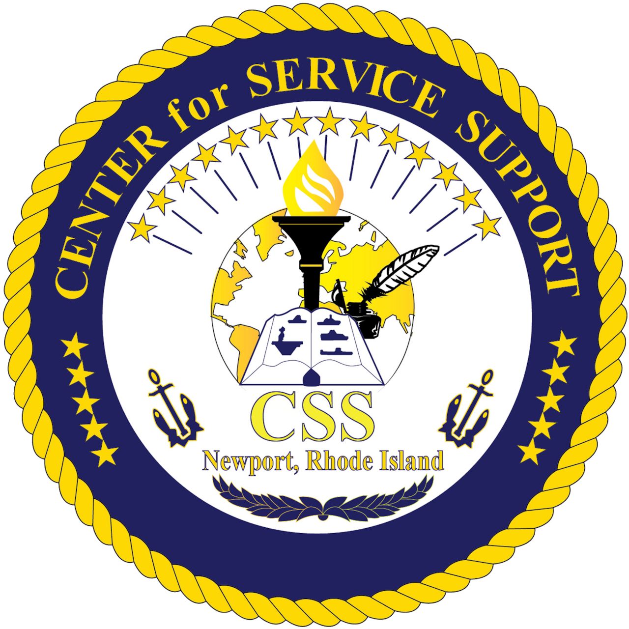 Official logo for Center for Service Support