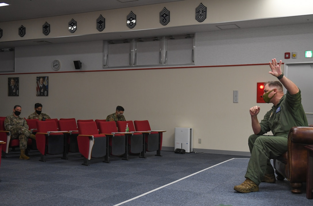 Photo from Storytellers event held on Kadena Air Base, Japan, May 6, 2021.