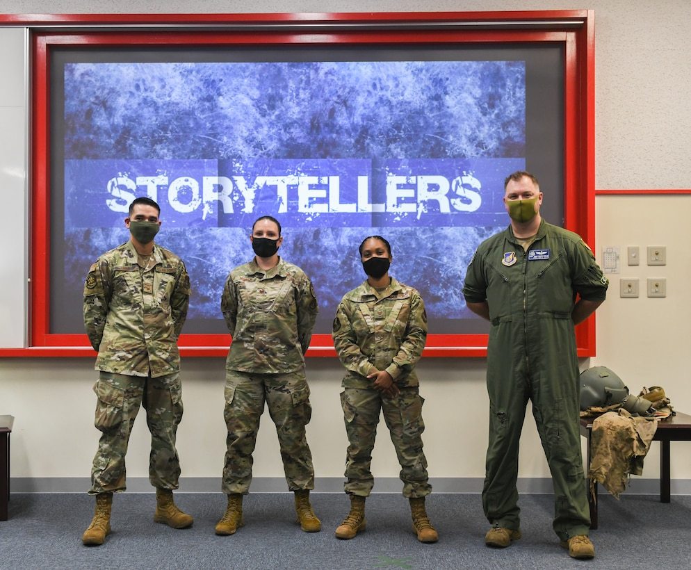 Photo from the Storytellers event  held on Kadena Air Base, Japan, May 6, 2021.