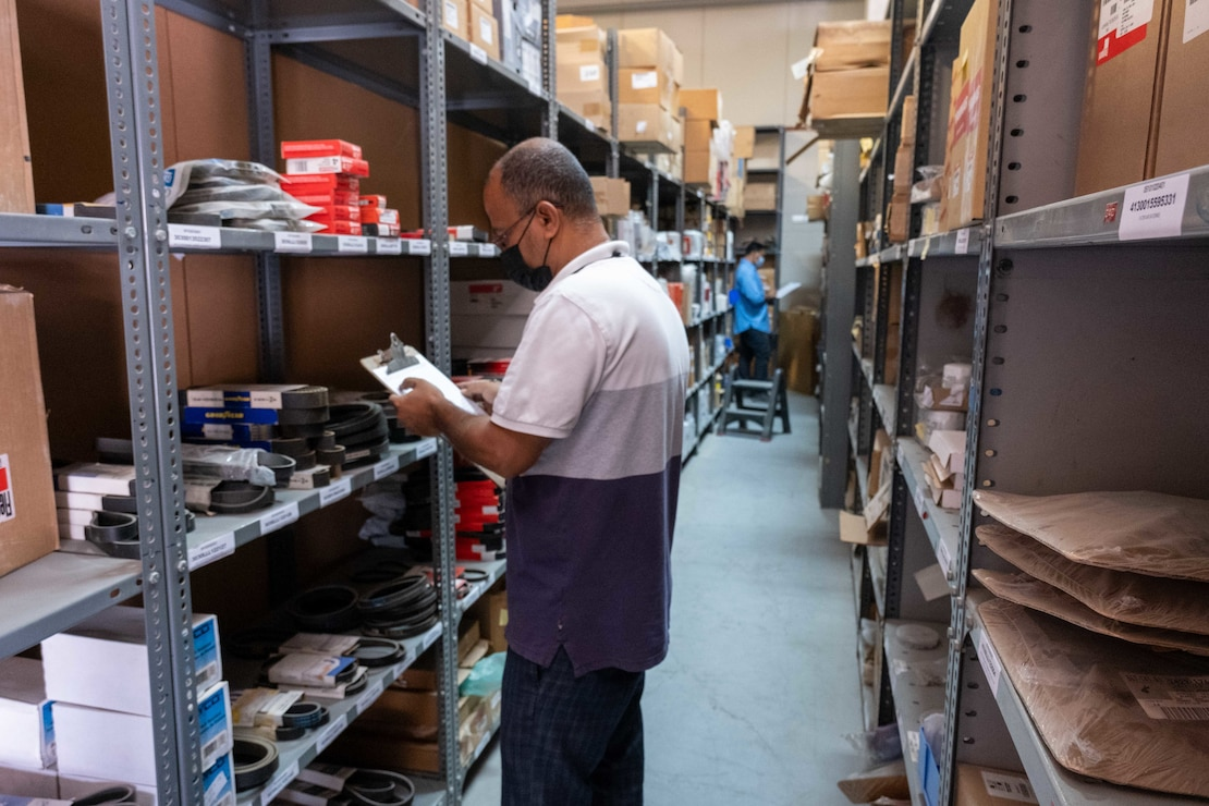 NAVSUP FLC Bahrain conducts mail operations.