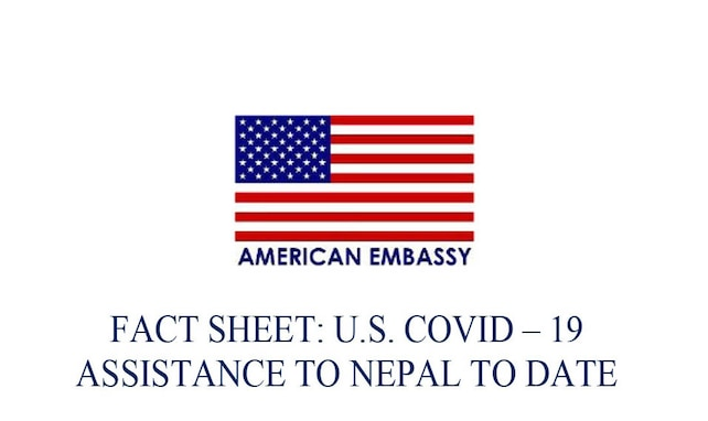 U.S. COVID – 19 Assistance to Nepal to Date