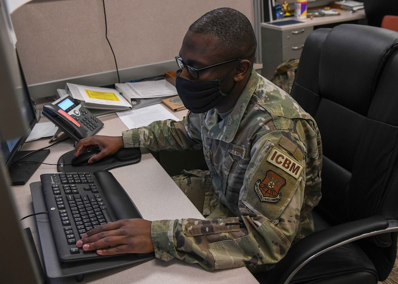 Staff Sergeant Stephen Vil is an Electrical Maintenance Team Quality Assurance Evaluator for the 91st Maintenance Group. Originally from Brooklyn, New York, Vil became a member of Team Minot in November 2013.