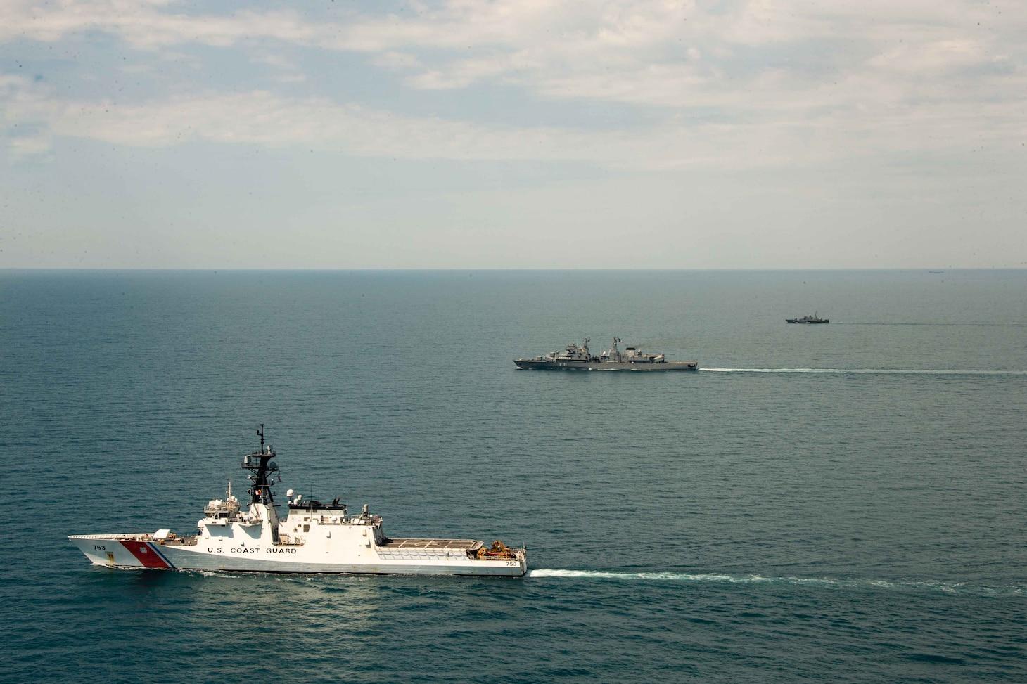 U.S. Coast Guard Cutter Hamilton (WMSL 753);