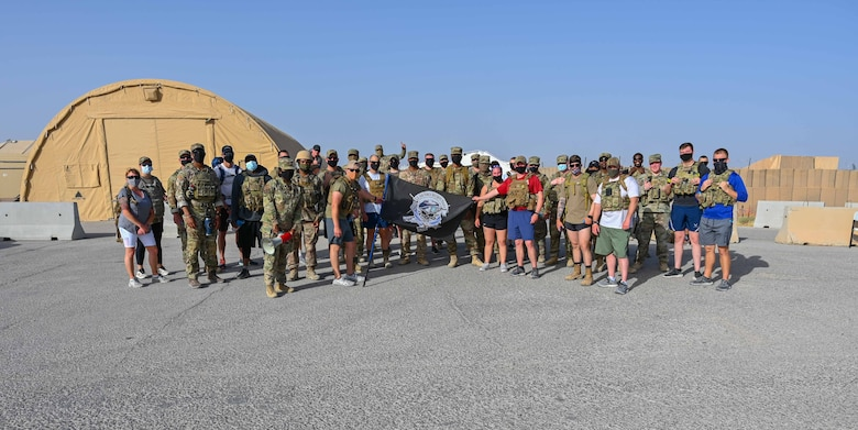 332nd AEW Ruck March