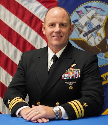 PENSACOLA, Fla. -- (May 14, 2021) Official portrait Cmdr. Matthew M. Scott. (U.S. Navy photo)