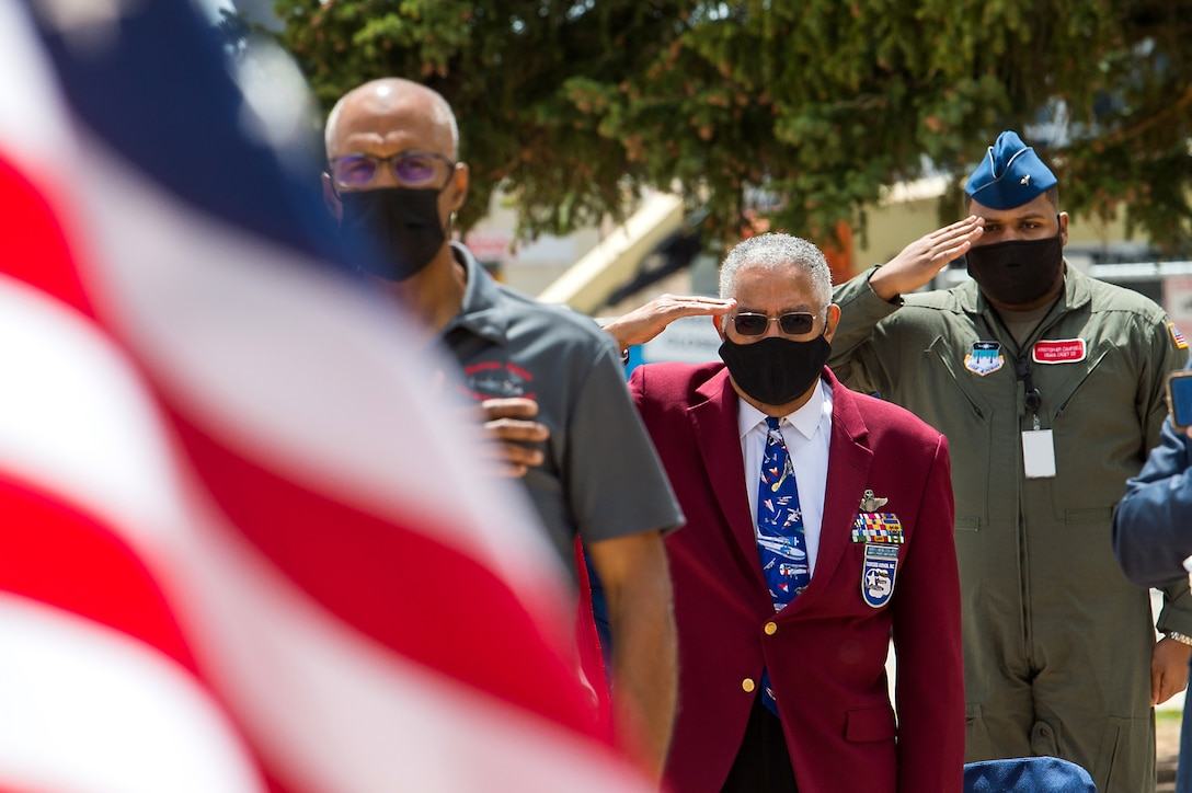 Tuskegee Airman Wreath Laying Ceremony 2021