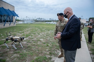 Acting Secretary of the Air Force visits Tyndall