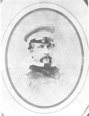 2.The only known image of Revenue Cutter Service officer William Cooke Pease. Taken in 1860, it is the oldest photograph of a cutterman that exists. (Florence Kern, Captain Pease: U.S. Coast Guard Pioneer)