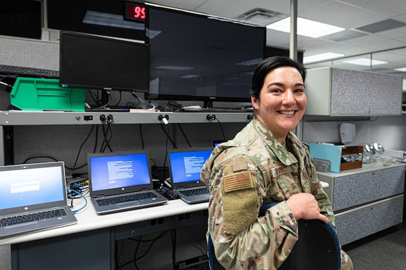 139th Airlift Wing Communication's Flight steps up to transition the base to virtual working during the COVID Pandemic