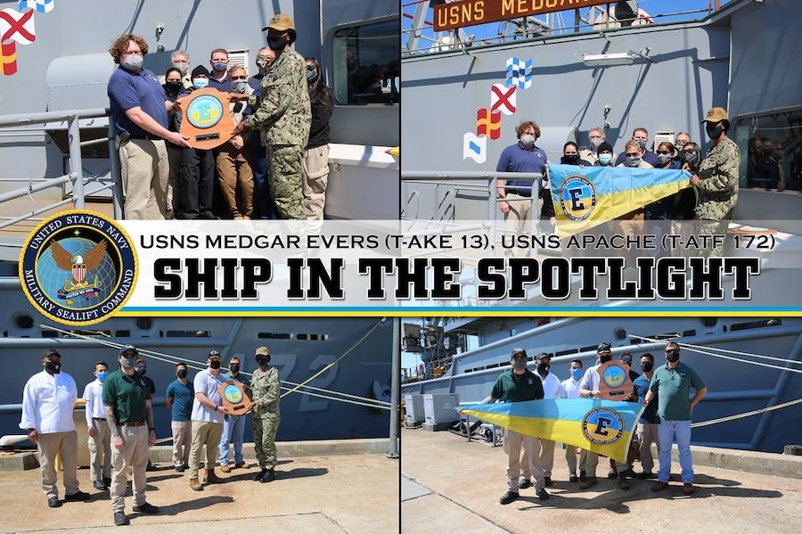 Ship In the Spotlight