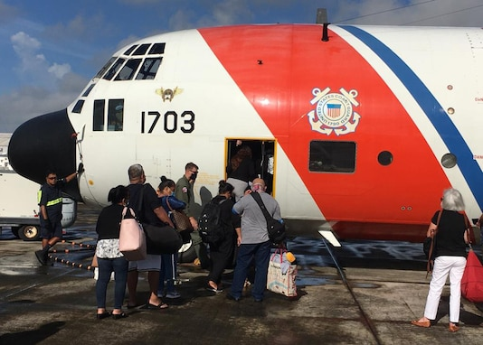 Coast Guard conducts repatriation flights to Federated States of Micronesia