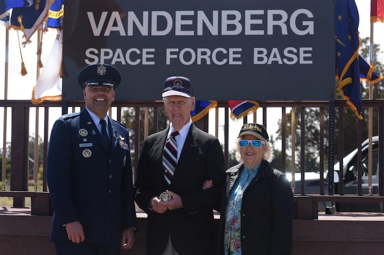 Photo of Vandenberg Space Force Base redesignation ceremony