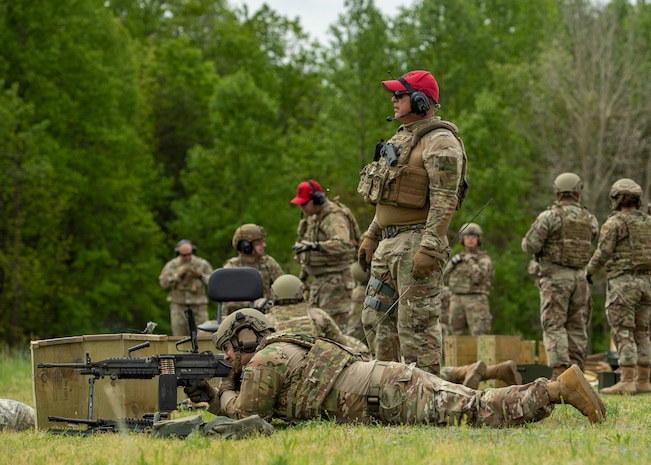 Reservists bring out the big guns