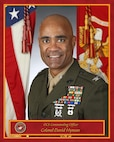 Colonel Hyman David C, Commanding Officer, Officer Candidates School, Quantico, VA