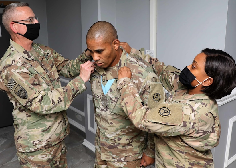 Camp Arifjan Sgt. Audie Murphy Club inducts combat medic