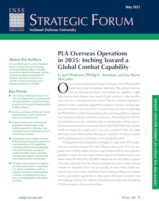 PLA Overseas Operations in 2035: Inching Toward a Global Combat Capability