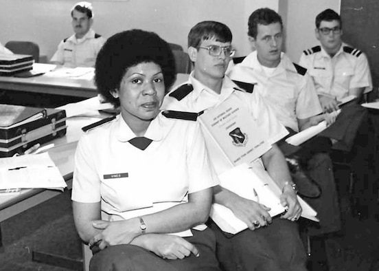 Early Air National Guard officer candidates
