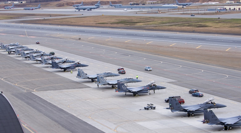 F-15s on the rams