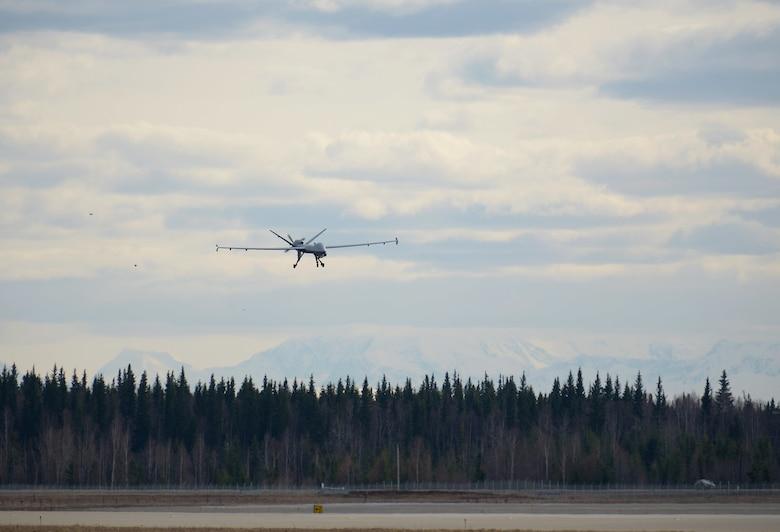MQ-9 filed into Eleison AFB