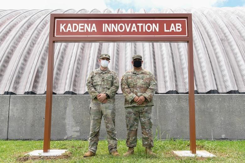 The grand opening of the Kadena Innovation Lab was held at Kadena Air Base, Japan, May 12, 2021.