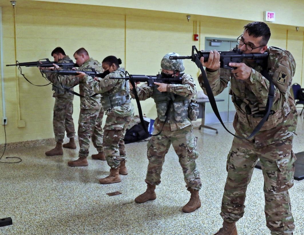 Rifle qualification