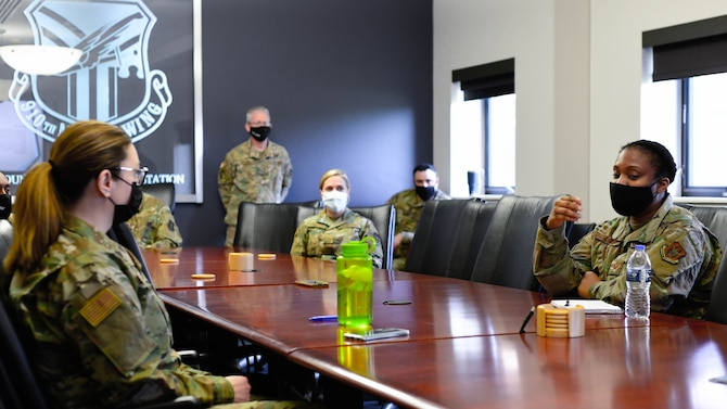 The Reserve Citizen Airmen assigned to Youngstown Air Reserve Station confronted extremist ideologies by participating in a Department of Defense-wide stand down (a pause in unit training) May 1 & 2, 2021, here.