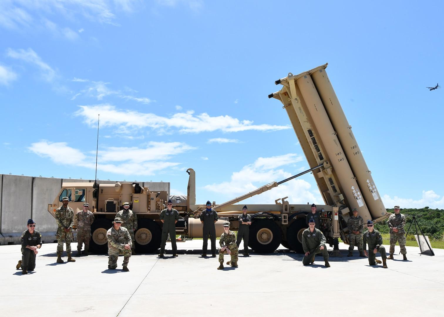 Guam Bomber Task Force visits U.S. Army THAAD