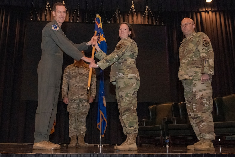 621st Air Control Squadron held a change of command ceremony at Osan Air Base, Republic of Korea, May 17, 2021.