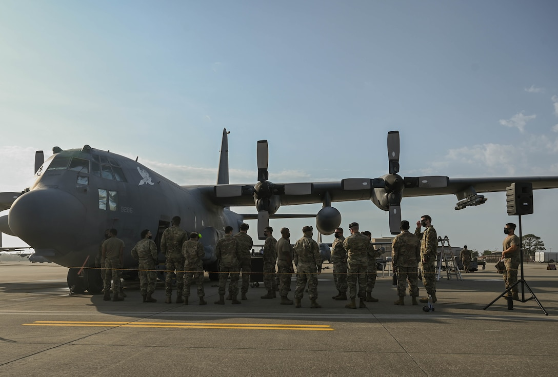 Air Commandos with the 4th Aircraft Maintenance Unit and the 1st Special Operations Maintenance Group participate in a load competition.