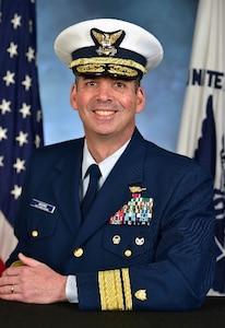 Photo of Rear Admiral Nathan A. Moore
