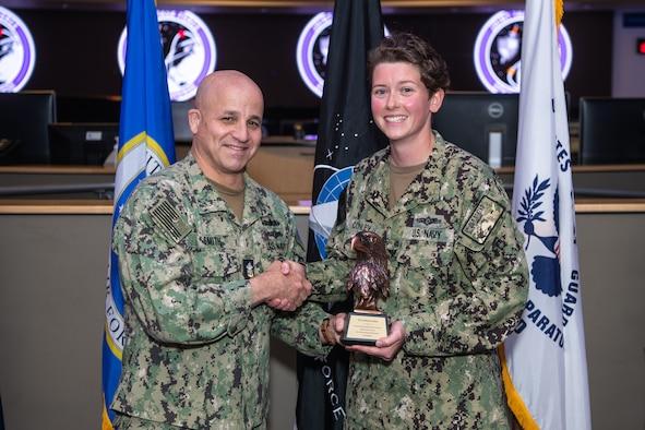 Navy leader recognizes NCO