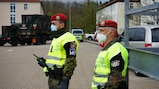 Bundeswehr Feldjäger provide escort to U.S. military convoys as part of DEFENDER-Europe 21