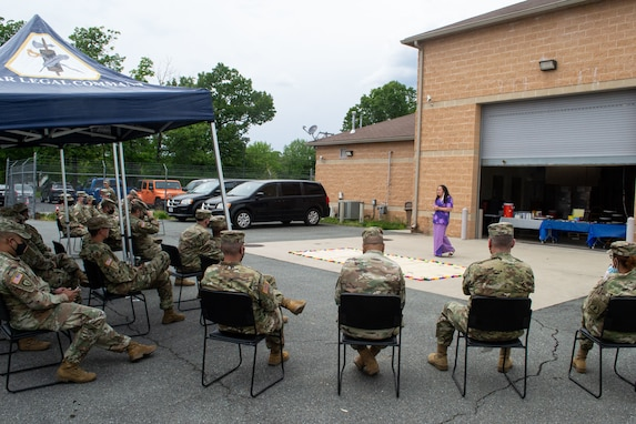 Legal Command Soldiers, civilians honor Asian-American and Pacific Islander Heritage Month