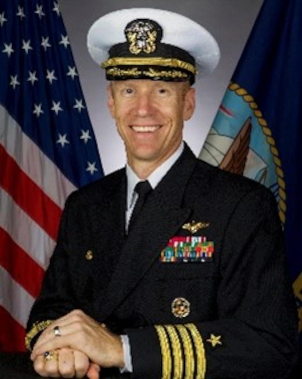 Captain Pete Riebe