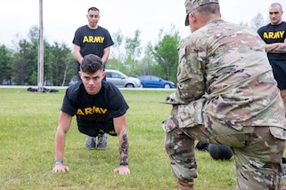 2021 U.S. Army Reserve Best Warrior Competition- Army Combat Fitness Test