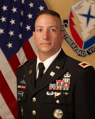 404th AFSB Commander COL John C. Rotante.