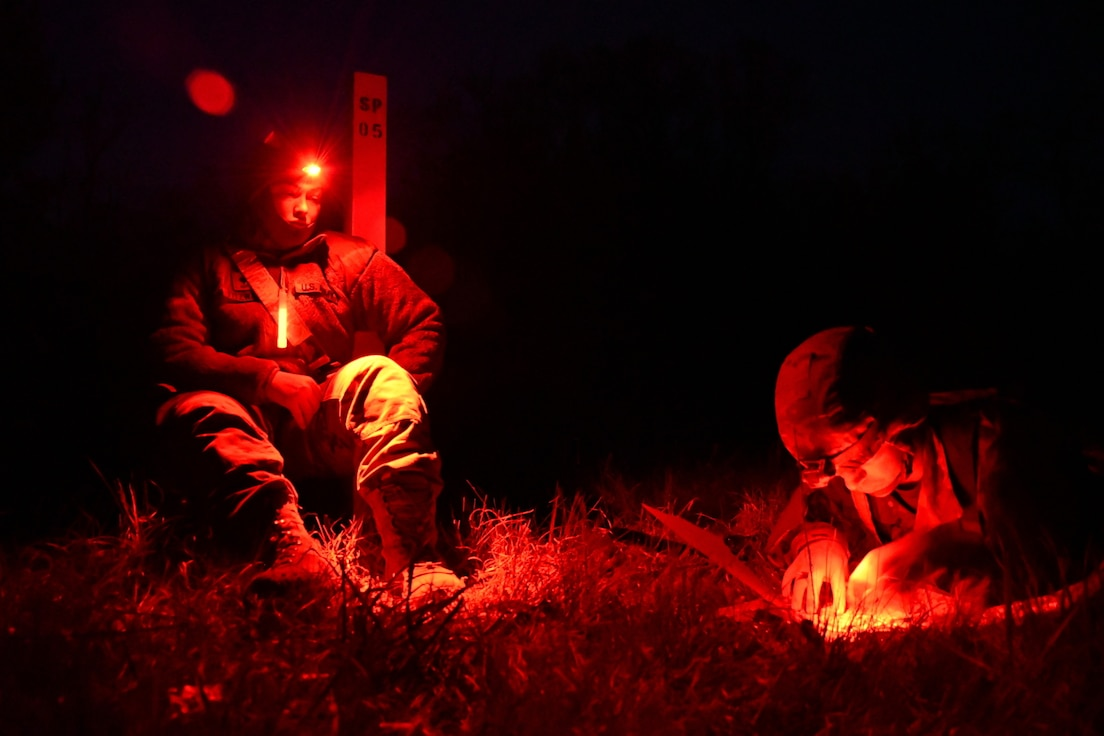 Soldiers test for Expert Field Medical Badge at Fort McCoy