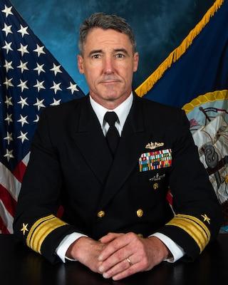 Official biography photo of Rear Adm. Blake L. Converse, deputy commander, U.S. Pacific Fleet.