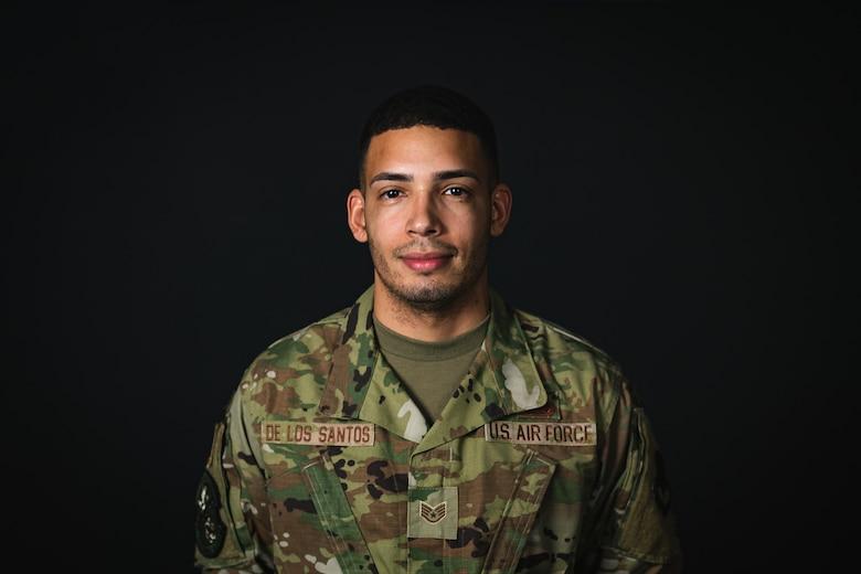 A photo of Staff Sergeant Cesar De Los Santos Zapata