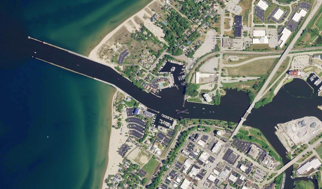St. Joseph Harbor, Michigan.