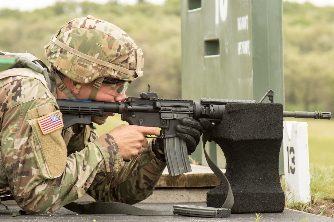 2021 U.S. Army Reserve Best Warrior Competition – M4 Carbine Qualification