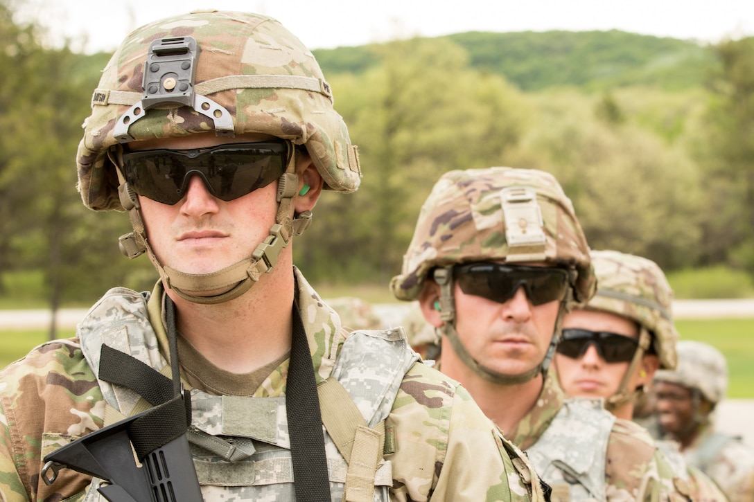 2021 U.S. Army Reserve Best Warrior Competition – M4 Carbine, Reflexive Fire