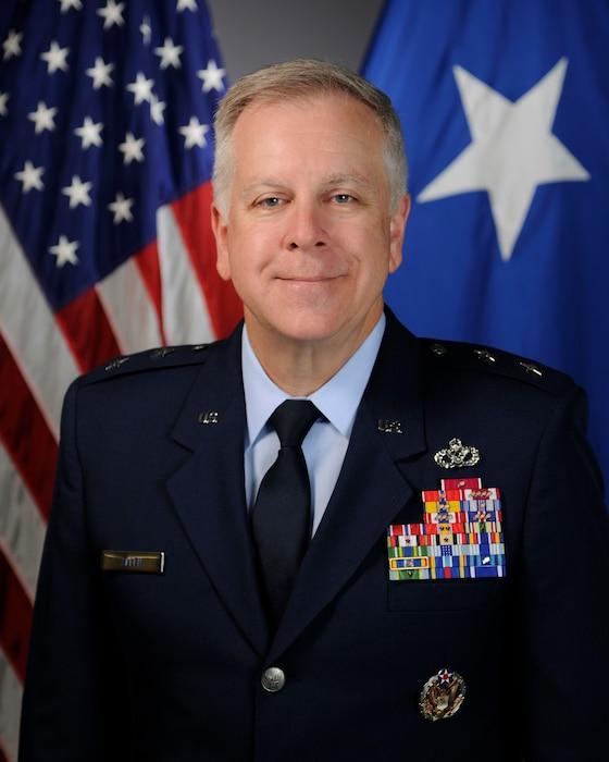 This is the official portrait of Maj. Gen. John J.  Allen, Jr.
