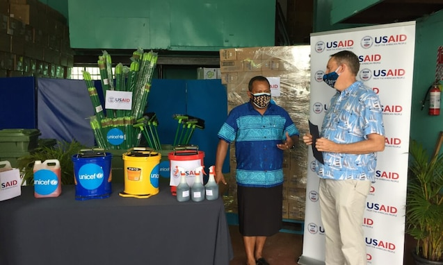 COVID-19 Response Supplies to Fiji