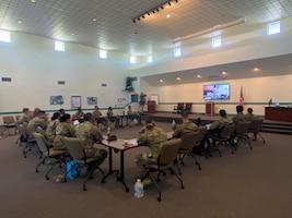 Airmen in professional development seminar