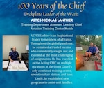 Lanthier is an inspirational leader to members of all ranks. Throughout the global pandemic, he remained a trusted mentor who consistently sought out and excelled at the most challenging of assignments. Recognizing a need to assist the unit's medical clinic that serves over 30 units across the Gulf Coast, he quickly volunteered to not only serve as a contract tracer, but alternate between the clinic chief to provide daily updates to the command on members in isolation/quarantine and any anticipated impact to the unit. As a qualified tracer, he remained an expert on the changing Coast Guard and Centers for Disease Control and Prevention (CDC) policies, serving as a subject matter expert to the command. Furthermore, Lanthier excelled as the acting command master chief on multiple occasions at the Coast Guard's only combined training center, operational air station, and base. Lastly, he established new programs to assist unit families.