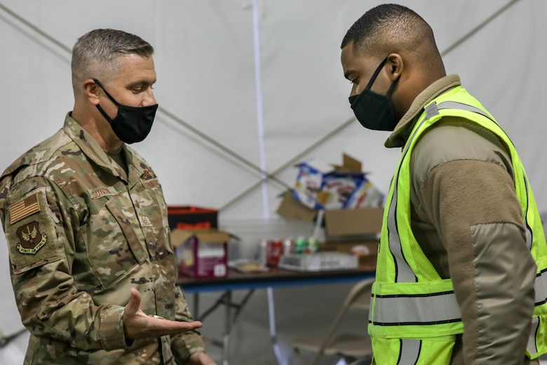 Airmen assigned to AFNORTH's 64th and 335th Air Expeditionary Group's COVID Response Efforts Return Home